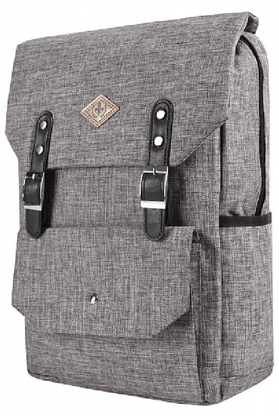Рюкзак / Desteny Favor / 6006-1 Лилия-ромб/ серый рябой