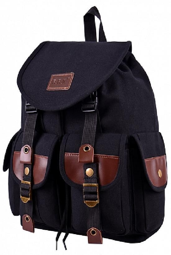 Рюкзак / RRX / A-19 Вещмешок 37х13х29 см / чёрный