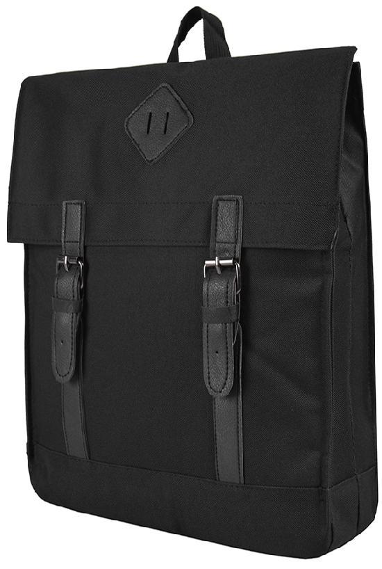 Рюкзак / Jeans / 889 Кожаная розетка 41х11х33 см / чёрный