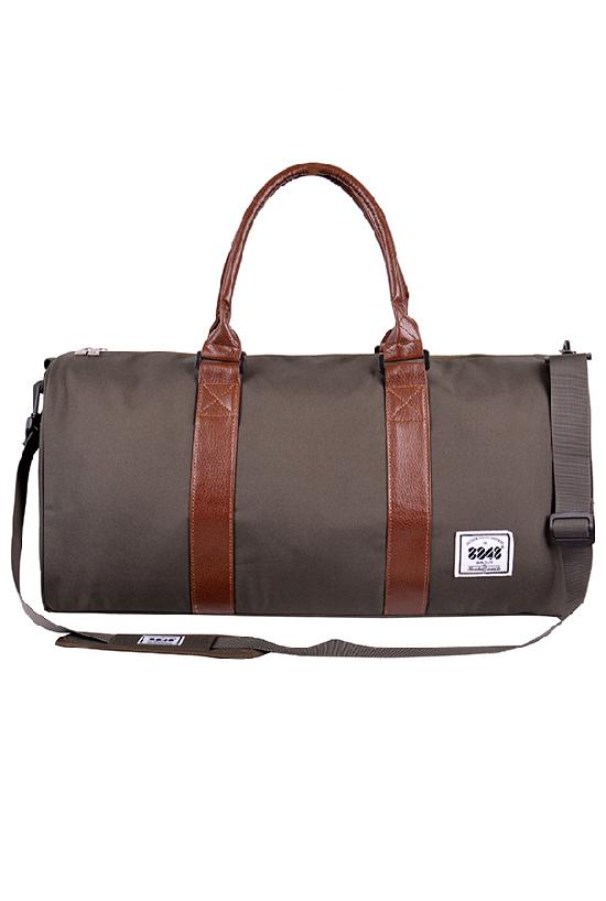 Сумка / 8848 / D004-7 Спортивная сумка 52х18х32 см / т.зелёный