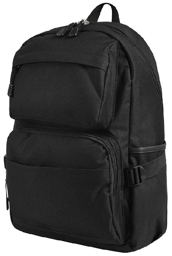 Рюкзак / Jeans / 893 Классика 43х10х27 см / чёрный