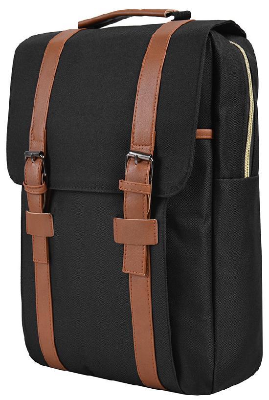 Рюкзак / Jeans / 891 Два ремня на весь рюкзак 42х11х28 см / чёрный
