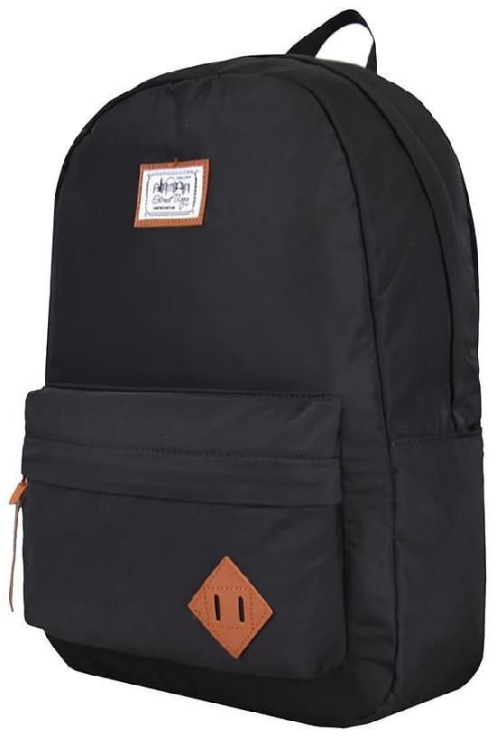 Рюкзак / Street Bags / 6806 Розетка сбоку/ чёрный