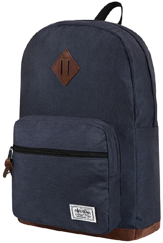 Рюкзак / Street Bags / 7021 Полукруглый карман/ тёмно-синий