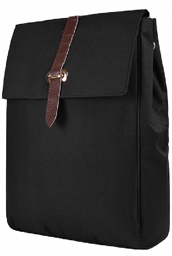 Рюкзак / Jeans / 903 Золотоая застёжка 44х12х30 см / чёрный