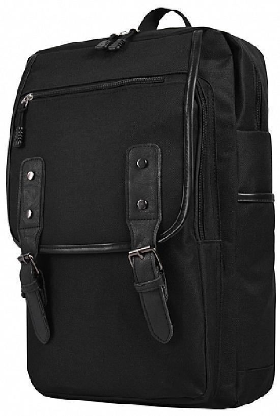 Рюкзак / Jeans / 905 Чёрные ремни и чёрная молния  / чёрный