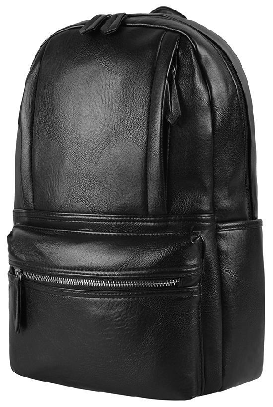 Рюкзак / Glam / 8835 Вертикальные карманы 41х12х28 см / чёрный