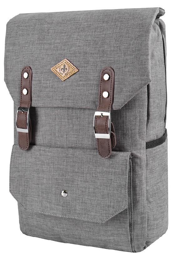 Рюкзак / Desteny Favor / 6006-1 Лилия-ромб  / светло-серый