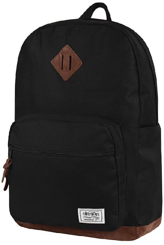 Рюкзак / Street Bags / 7021 Полукруглый карман/ чёрный