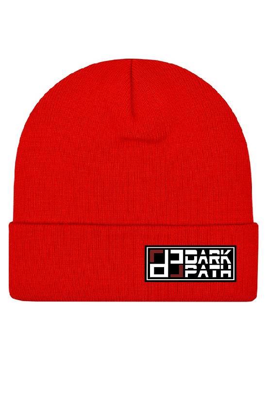 Шапка / DARK PATH / Классическая шапка-бини 29 см / кармин
