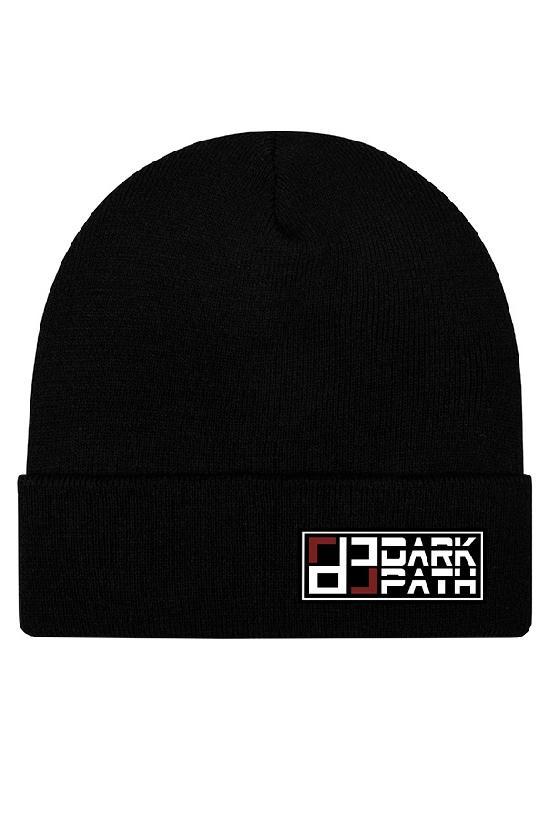 Шапка / DARK PATH / Удлиненная шапка-бини 31 см / чёрный