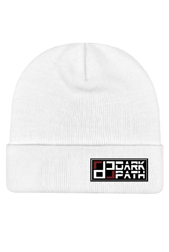 Шапка / DARK PATH / Удлиненная шапка-бини 31 см / белый