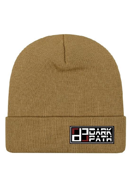 Шапка / DARK PATH / Удлиненная шапка-бини 31 см / светло-коричневый