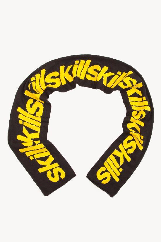 Шарф SKILLS Stepbystep (Черный (Черно-Желтый))