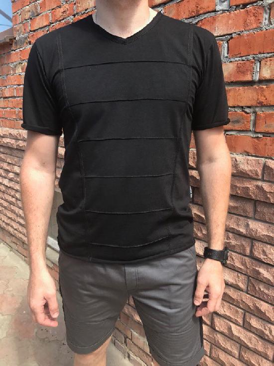 Футболка мужская М№0101 черный