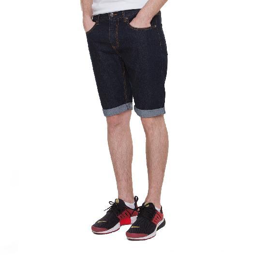 Шорты ЗАПОРОЖЕЦ Basic Denim Short Zap Regular Flex(Raw Blue)