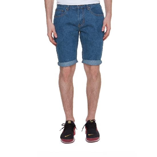Шорты ЗАПОРОЖЕЦ Basic Denim Short Zap Regular Flex(Classic Blue)