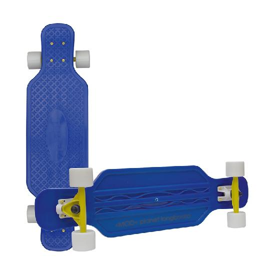 Скейт MOD Longboard 32'' blue/white wheels