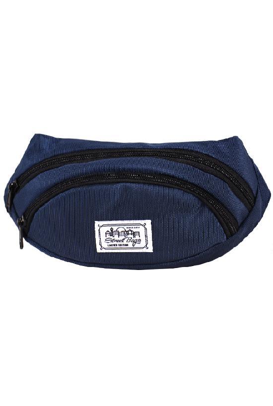 Сумка на пояс / Street Bags / SB-001-14 тёмно-синий