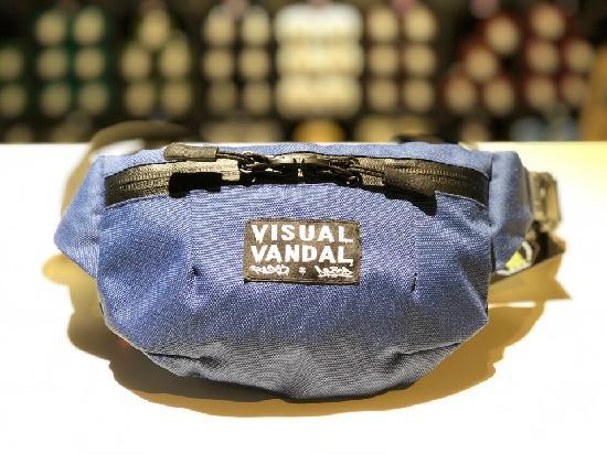 НПОГП сумка поясная Визуал вандал (Синий)