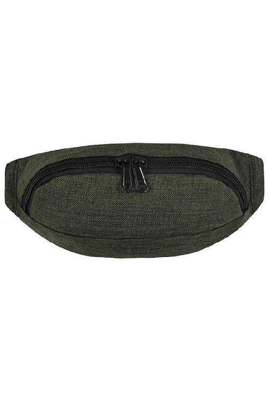Сумка на пояс / Street Bags / SB-003-NN / зелёный меланж