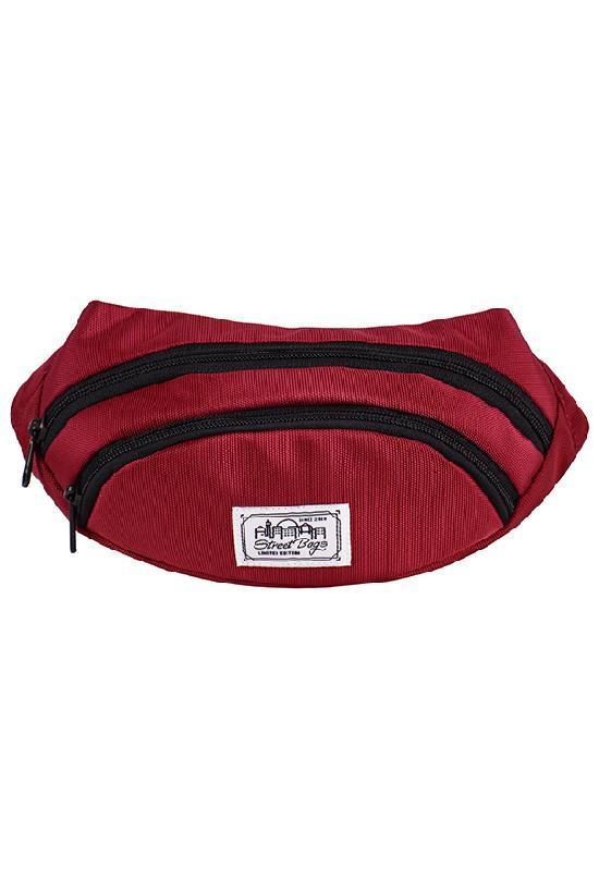 Сумка на пояс / Street Bags / SB-001-28/ бордовый