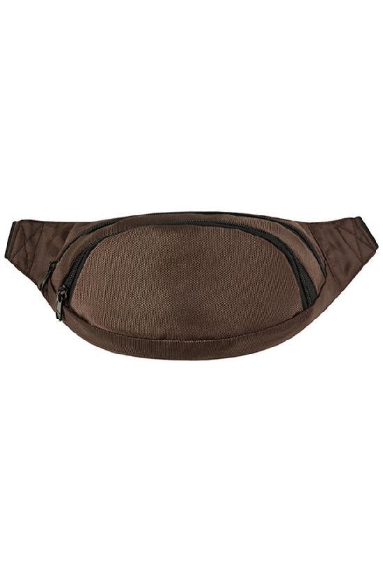 Сумка на пояс / Street Bags / SB-001-NN / тёмно-коричневый