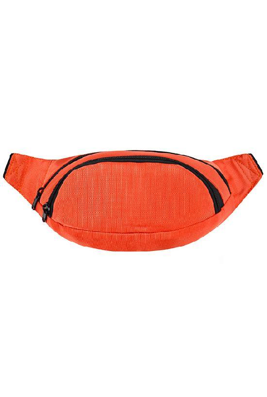 Сумка на пояс / Street Bags / SB-001-NN / оранжевый