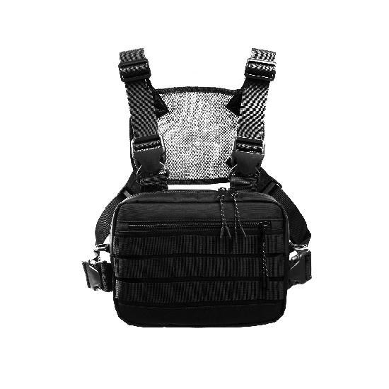 Нагрудная сумка ТАЙНА таслан чёрная