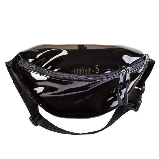 Поясная сумка ТАЙНА BLOCK ПВХ/BLACK