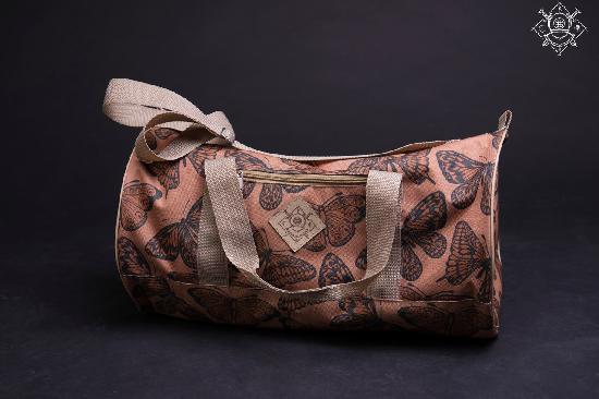 Сумка дорожная duffle bags (бабочки)