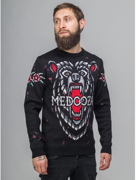 Свитер MEDOOZA Bear (черный)