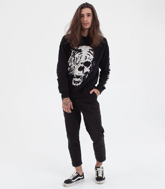 Свитшот MEDOOZA Tiger Skull