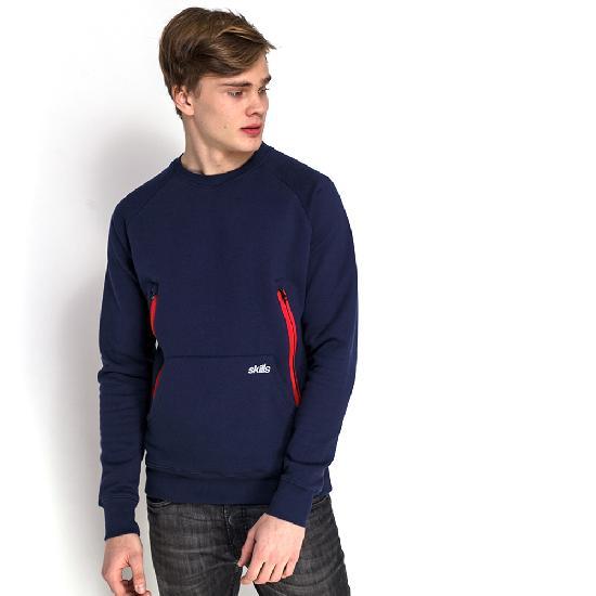 Толстовка SKILLS Cargo Sweatshirt Retro (Черный (Black Iris)