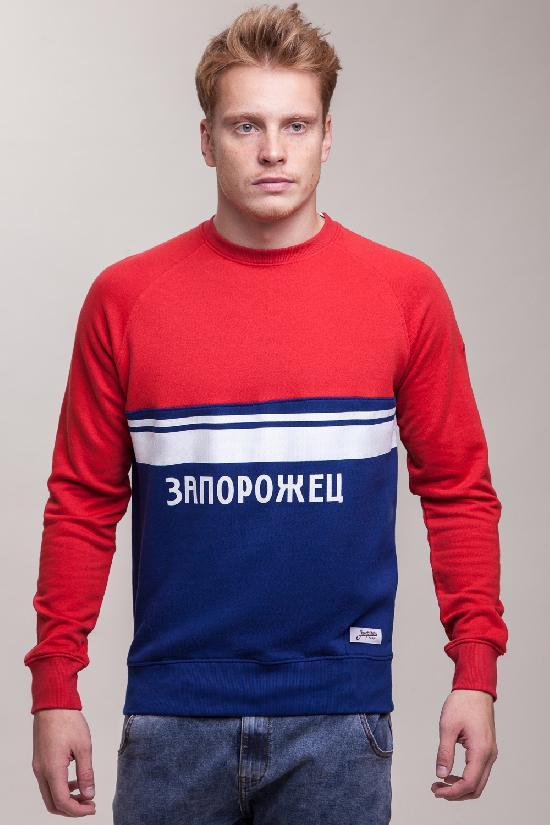 Толстовка ЗАПОРОЖЕЦ Zaporojec 1 (Красный (Mars Red/True Blue)