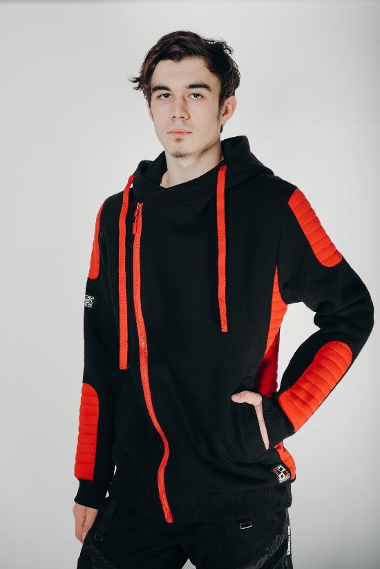Косуха / DARK PATH / DP-К001-20 /  чёрный-красный