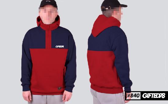 Худи GIFTED FX 18/840 сине-красный