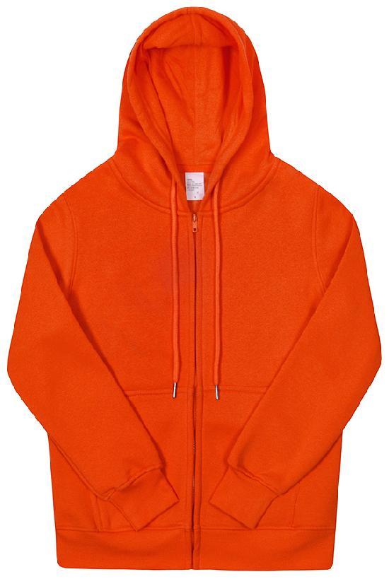 Толстовка с капюшоном / Spb Apparel / худи на молнии / оранжевый