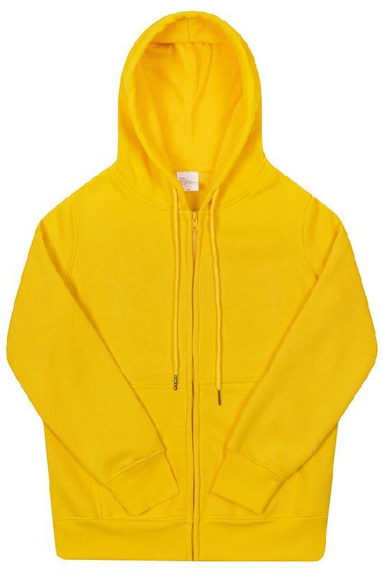 Толстовка с капюшоном / Spb Apparel / худи на молнии / жёлтый