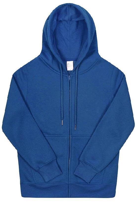 Толстовка с капюшоном / Spb Apparel / худи на молнии / синий