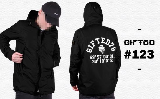 Куртка GIFTED SS18/123 черный