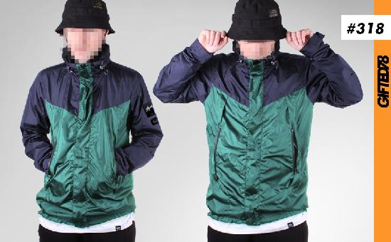 Куртка GIFTED SS19/318 сине-зеленый