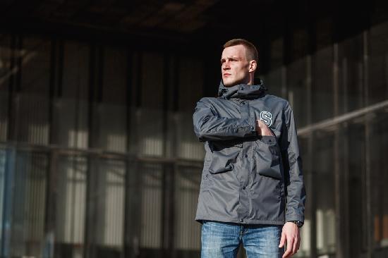 Куртка SKFN Spleef Jacket (серый)