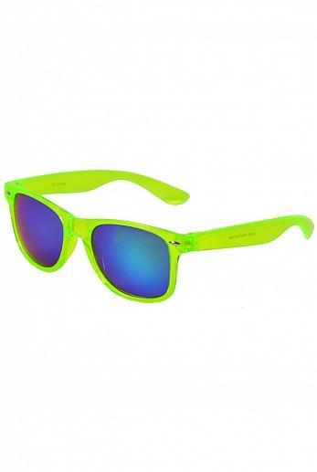 Очки / Street Style / JHTM 1028 С-91 Wayfarer Glassy / салатовый неон