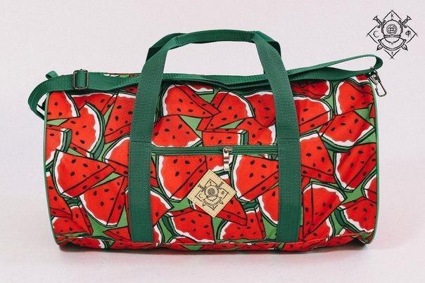 Сумка дорожная duffle bags (арбузы)