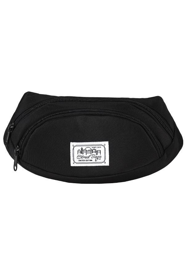 Сумка на пояс / Street Bags / SB-001-36/ чёрный