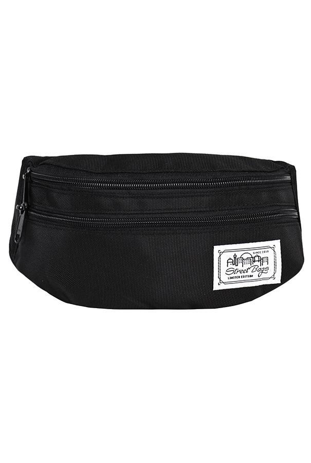 Сумка на пояс / Street Bags / SB-002-36/ чёрный