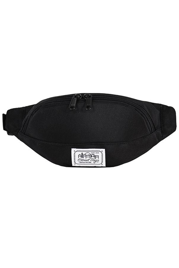 Сумка на пояс / Street Bags / SB-003-36/ чёрный