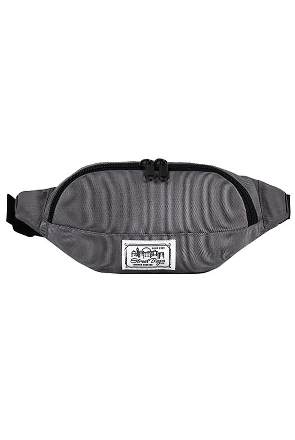 Сумка на пояс / Street Bags / SB-003-12/ серый