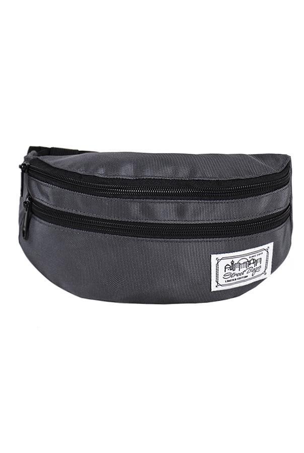 Сумка на пояс / Street Bags / SB-002-04 / серый